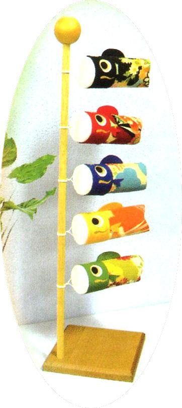 子供(こども)の日 和柄風水鯉のぼり 端午の節句飾り・五月人形・兜飾り 手作りちりめん細工 和雑貨 なごみ かわいい リュウコドウ
