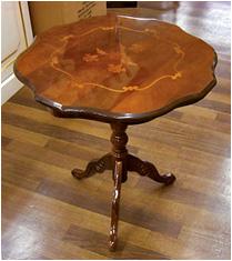 木製コーヒーテーブル(イタリア製)