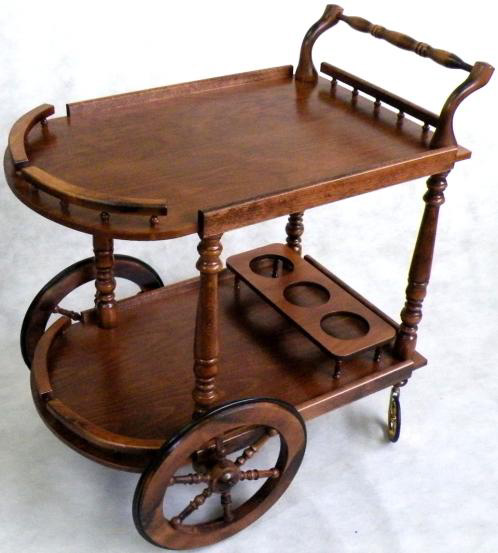 木製ワゴン(イタリア製)