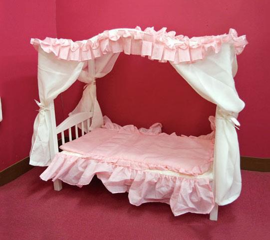 ロマンチックペットベッド