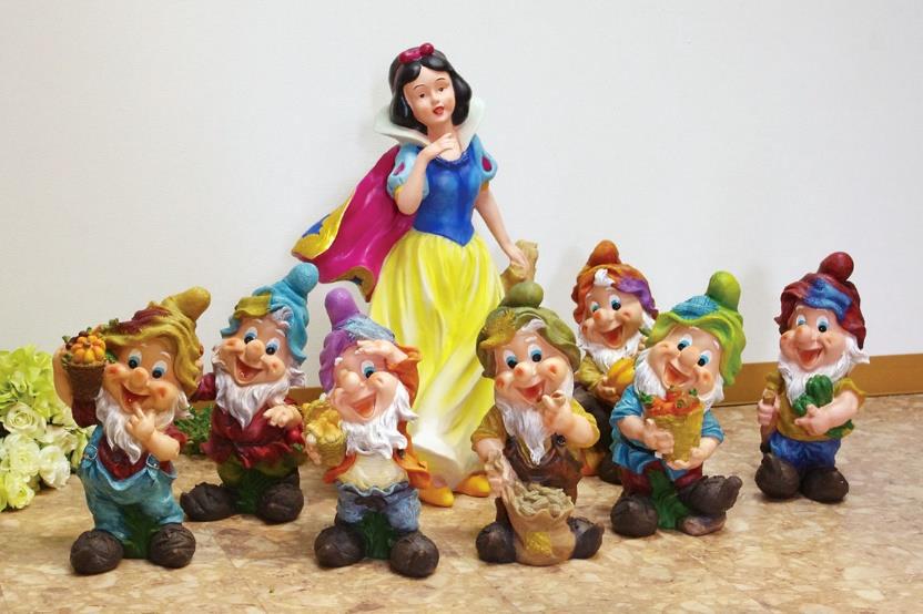 白雪姫と7人のこびとセット
