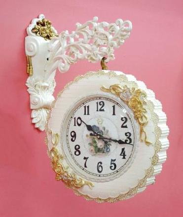 プリンセス両面時計