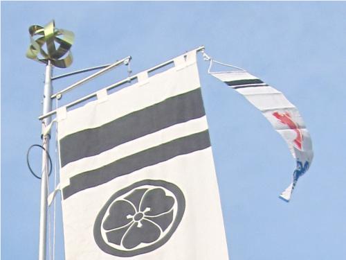 【幟掲揚装置 W 回転球なし】 神社幟 神社 のぼり 幟 ポール 祭り 横棒 日本製 送料無料 クーポン