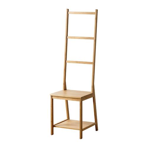 送料無料【IKEA -イケア-】RAGRUND タオルラックチェア 竹