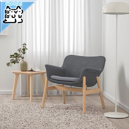 【IKEA Original】VEDBO ヴェードボー アームチェア グンナレド グンナレド ダークグレー 1人掛けソファ
