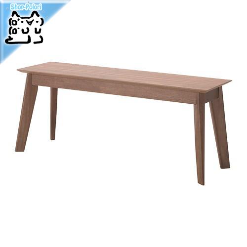 【IKEA Original】VABY ベンチ ウォールナット材突き板 110 cm