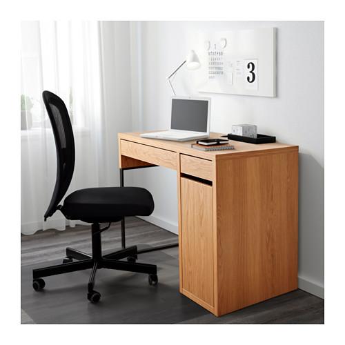 pretty nice 52296 11b47 ikea desk MICKE desk oak-like 105x50 cm