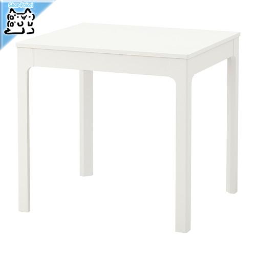 【IKEA Original】ikea テーブル EKEDALEN 伸長式テーブル ホワイト 80/120x70 cm 2~4人用