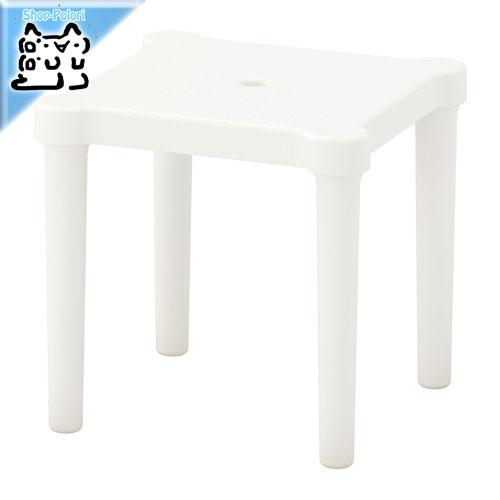 ikea スツール 外でも使える丈夫な子供用の可愛い椅子 IKEA Original UTTER お得なキャンペーンを実施中 -ウッテル- 大人気 子供用スツール 室内 屋外用 cm ホワイト 28x28