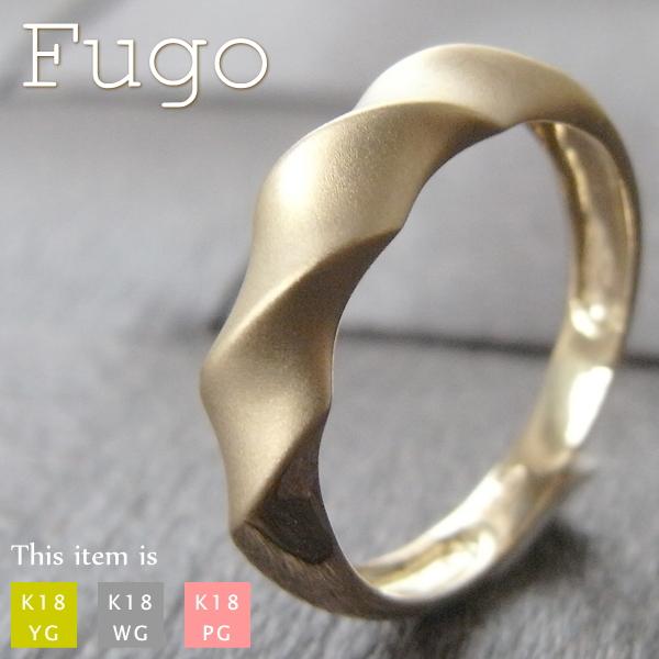 ピンキーリング 18k 18金 リング 指輪 [Fugo] 華奢 シンプル k18 ゴールド 小指 レディース ピンキー アクセサリー 女性用 誕生日 プレゼント マイナス 小さい サイズ 細 ring  -2号 -1号 0号 1号 2号 3号 4号 5号 6号 7号