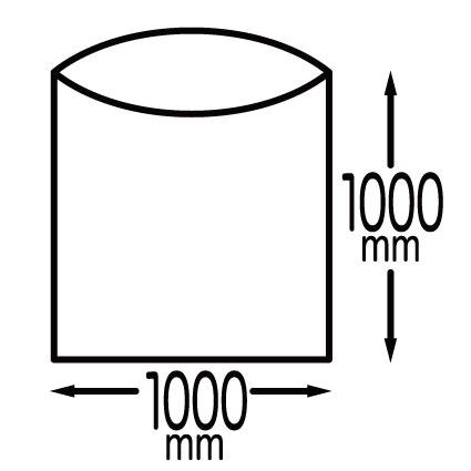 【まとめて10ケース】1冊あたり130円 10枚x50冊x10箱 ごみ袋 100リットル KN-103-10 0.020mm厚 半透明/ポリ袋 ゴミ袋 エコ袋 袋 サンキョウプラテック  まとめ買い あす楽 13時まで即納