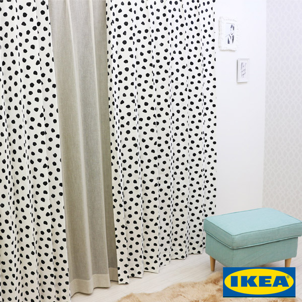 北欧カーテン【IKEA】シェッゴルト
