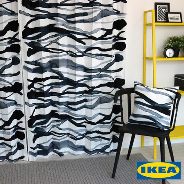 ストックホルム【IKEA】北欧カーテン