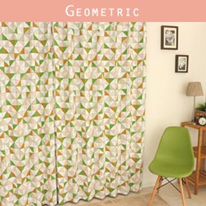 カーテン 「Geometric」