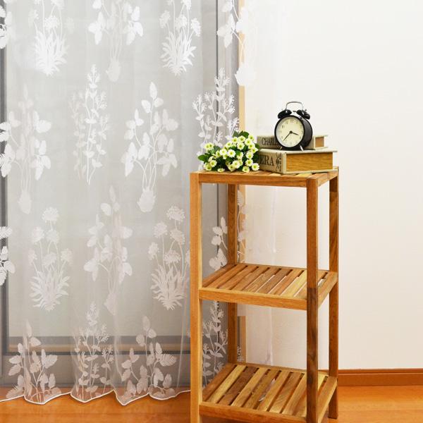●日本製● 透け感のあるレースカーテン