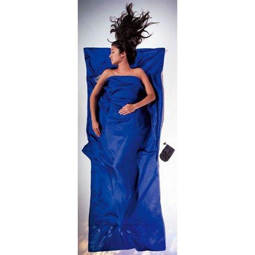 COCOON(コクーン) ST80 トラベルシーツ シルク ウルトラマリンブルー / 寝袋 シュラフ