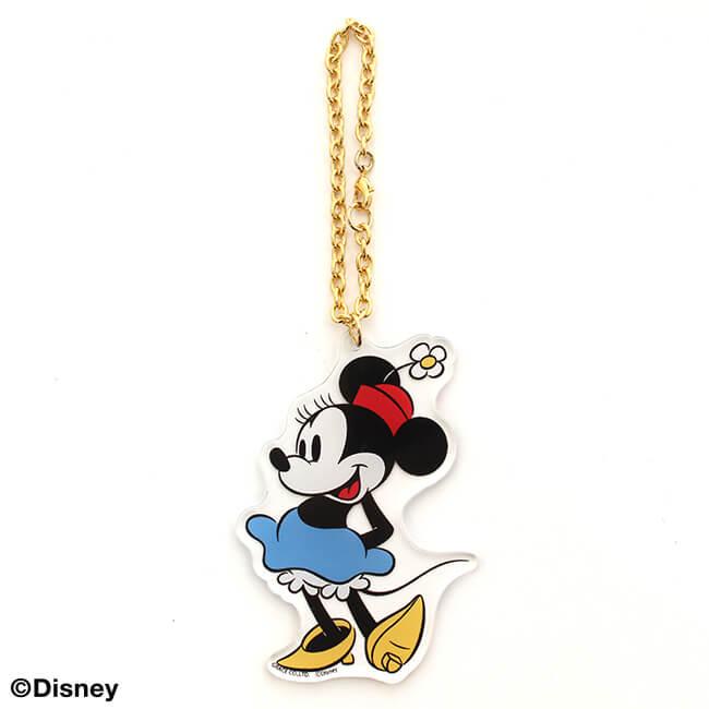パニカムトーキョー キャラクターファッションの通販専門店 ディズニー 海外 アクリルキーホルダー ミニーマウス 再販ご予約限定送料無料
