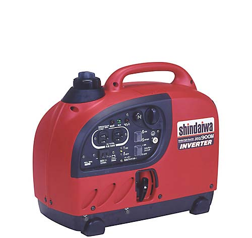 Shindaiwa 回波逆变器生成器 (汽油机) IEG900M Y 02P06May957
