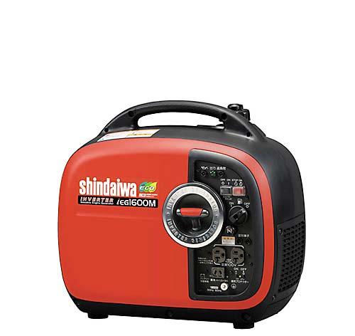 Shindaiwa echo inverter generator (petrol engine) IEG1600M-Y 02P21Feb15