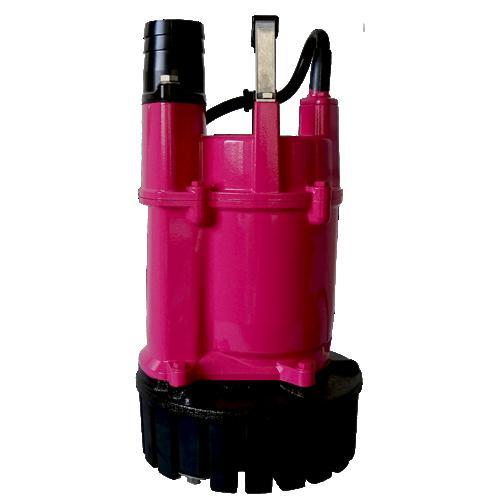US-40J 水中過流ポンプ ピンク色 桜川 水中ポンプ 100V 400W 50mm