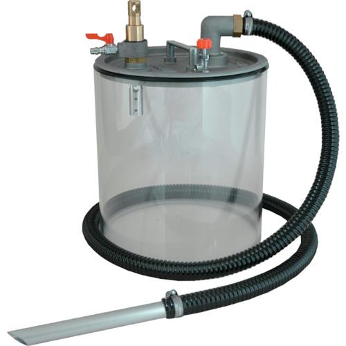 オープンペール缶用/液体回収専用 エアーバキュームポンプAPPQOG(灯油・軽油用)