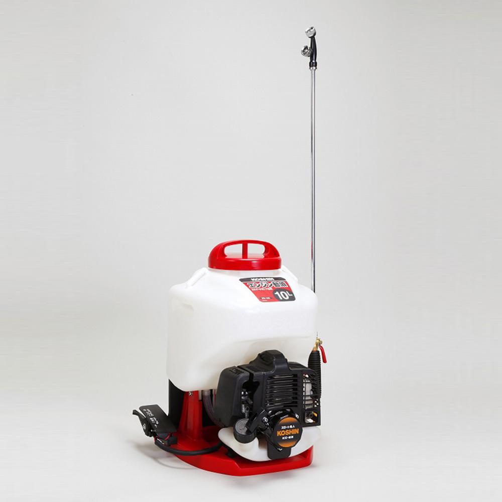 背負式エンジン噴霧器 スタート名人 ES-10C 背負式動力噴霧器カスケード工進 コーシン KOSHIN エンジン式噴霧器 エンジン動噴 家庭菜園 噴霧