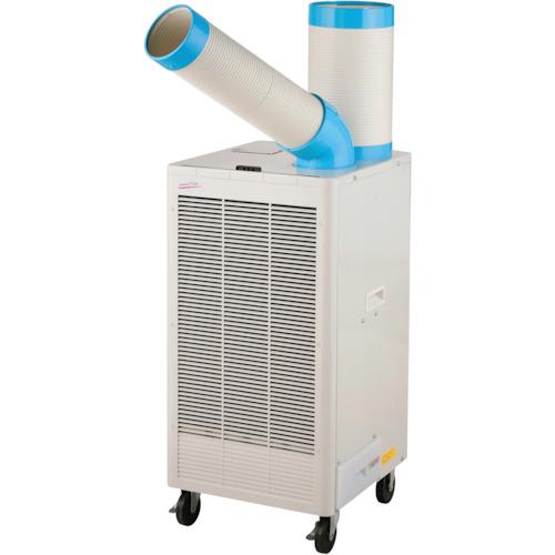 N407-TC 排熱ダクト付き スポットクーラー 単相 100V 首振り サーマルプロテクター付 一体型 床置スリム 直吹型 スポット空調 スポットエアコン 快適冷風 熱中症対策