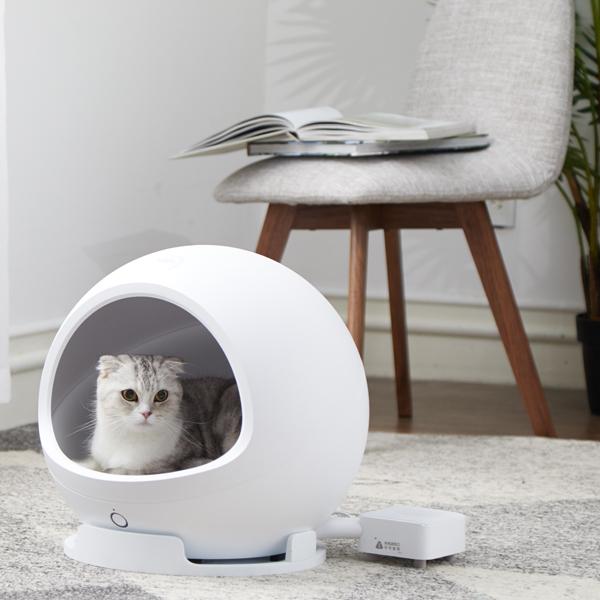 PETKITスマート・ペットハウス・コージー2 ホワイト【送料無料】猫 犬 ベッド ペット家具