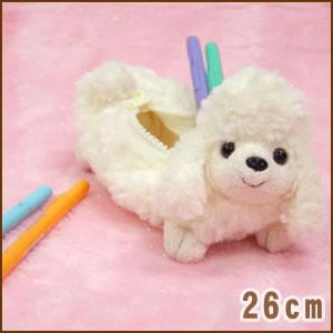 小狗激情铅笔案例贵宾犬白色 / 最好过 / / 超过 5000 日元对 / 10P13Dec15 / _ /