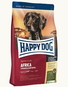 ハッピードッグセンシブル アフリカ(ダチョウ) 12.5kg 穀物不使用 グレインフリー チキン不使用 小型犬 アレルギーケア 獣医師推奨3980円以上で送料無料