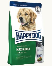 大型犬に最適な栄養バランスと粒形状のレシピ ハッピードッグフィット&ウェル マキシアダルト 15kg5000円以上で送料無料