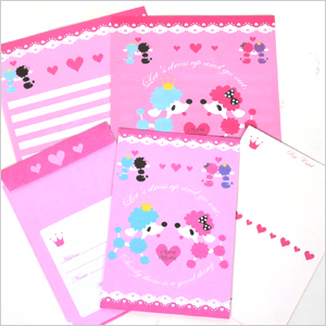Fashionable poodle letter 3 book set