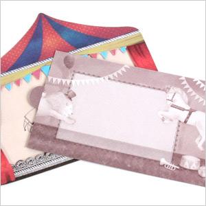 Greeting card サーカスプードル