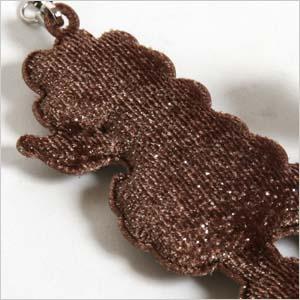 Furry ラメプードル strap.