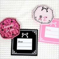 Poodle Mini Card square type