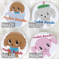 PUDEL POODLE badge