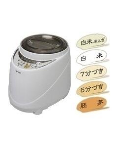 MK(エムケー精工) 家庭用精米機 1~5合まで 新鮮風味づき(無水米とぎコース付) 4905249195103 SM-500W