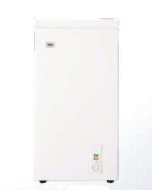 Haier(ハイアール) 1ドア 直冷式 上開き式冷凍庫 66L 4562117084657 JF-NC66F(W)ホワイト