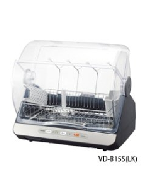 TOSHIBA(東芝) 食器乾燥器 容量 6人用 マイコンタイプ 4904550935682 VD-B15S(LK) [ブルーブラック]