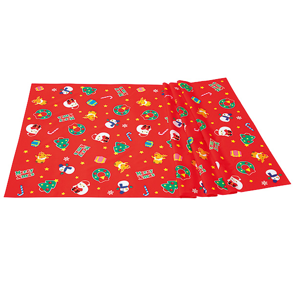 物品 クリスマスシート W90×L180cm 1枚入 贈物 テトロンポンジ