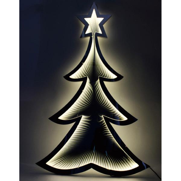 【時間指定不可】LEDミラーライト(ツリー) H100×W67×D2cm 【1ヶ入】
