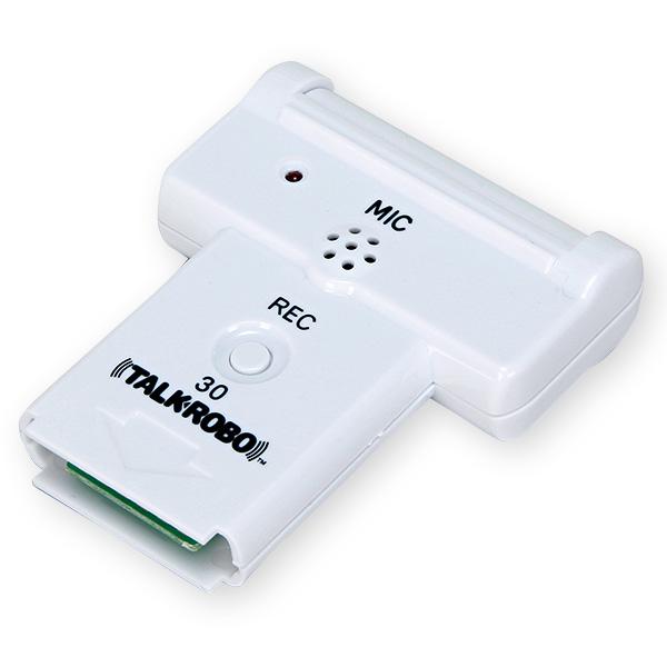 トークロボ 録再カートリッジ(30秒) 告知ポップ 音声POP  KZ8-0025 ABS H85×W70×D15mm
