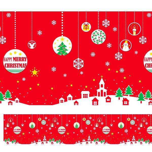 クリスマス (Xmas)幕(腰幕) | ビニール幕 クリスマス(オーナメント)