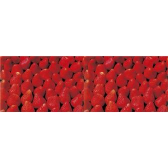 ビニール幕 いちご(写真) 春POP いちご  PA8-0773 PE0.07mm(t) 60cm×50m巻