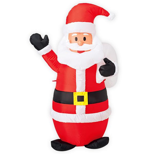 エアブロー プレゼントサンタ(M)|クリスマスのエアーPOP