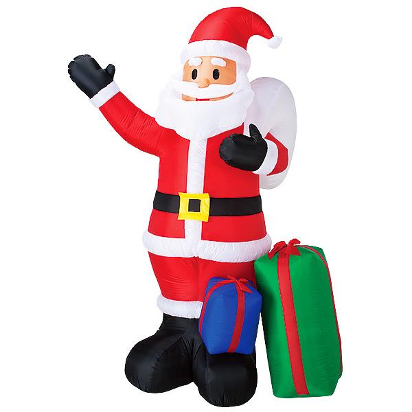 ムービングエアブロー プレゼントサンタ|クリスマス(Xmas)エアPOP