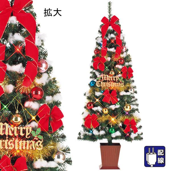 150cmスクエアベースツリーセット|クリスマスツリー(Xmasツリー)