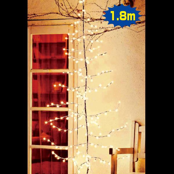 LEDハンギングライトツリー(ゴールド)|クリスマス (Xmas)イルミネーション・照明演出