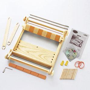 手芸 道具 クロバー 手織り機咲きおり40cm(30羽セット) 1台 織り機【取寄商品】