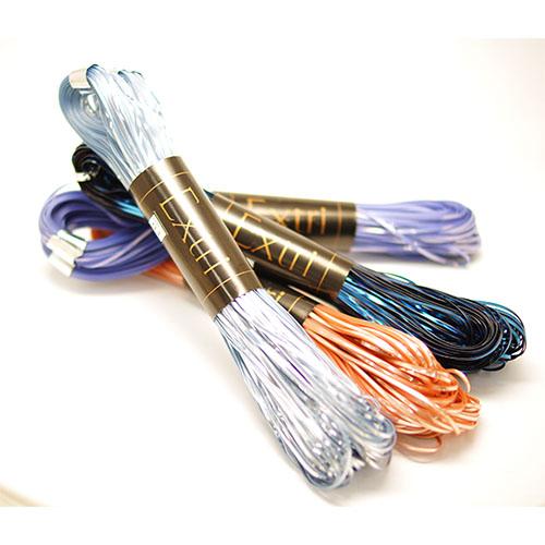 即納 糸 単色 ポリエステル かせ巻 約50m 極太 1かせ販売 レース ポリエチレン オリジナル ジュエリー 毛糸のポプラ エクトリー 在庫商品